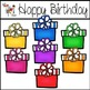 Happy Birthday Clipart Set