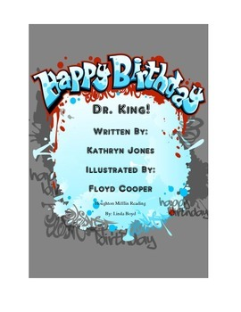 Happy Birthday Dr. King Houghton Mifflin Reading for Black