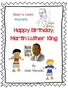 Happy Birthday, Martin Luther King by Jean Marzollo- A Com