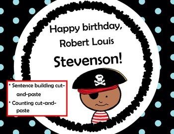 Happy Birthday Robert Louis Stevenson! Building Sentences