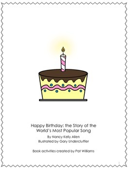 "Book Activities for ""Happy Birthday"" The Story of the Worl"