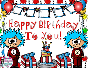Happy Birthday To You! Read Across America