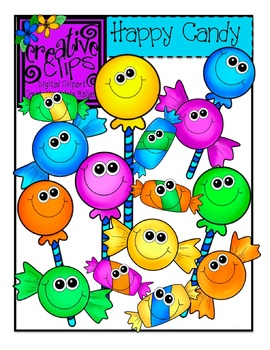Happy Candy {Creative Clips Digital Clipart}
