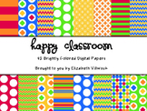 Happy Classroom Digital Papers