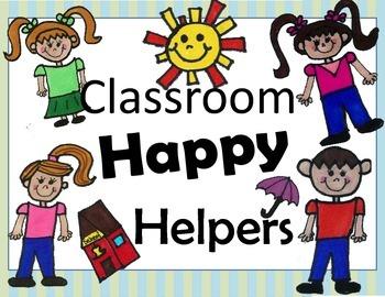 Happy Classroom Helpers