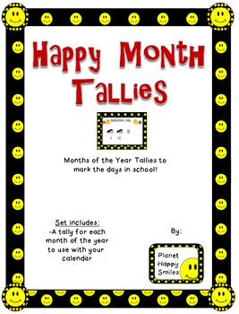 Smiley Face, Happy Face Month Tallies