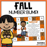 Happy Fall  Bump! Number Recognition Game