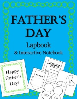 Happy Father's Day Lapbook & Interactive Notebook