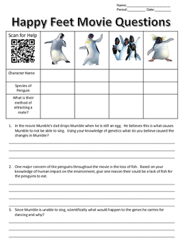 Happy Feet Movie Questions
