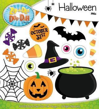 Happy Halloween Clip Art Set — Over 30 Graphics!