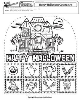 Halloween Countdown Pictures