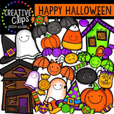 Happy Halloween {Creative Clips Digital Clipart}