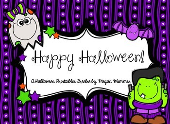 Happy Halloween Freebie!