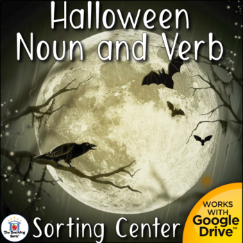 Halloween Noun and Verb Center