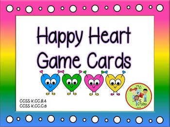 Happy Hearts Game Cards