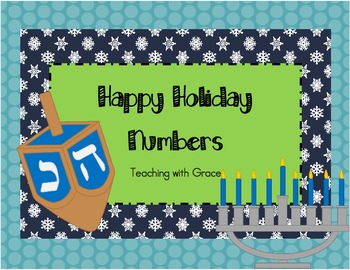 Happy Holiday Numbers- Ordering for Primary