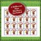 Happy Holidays 4x4 Bingo 60 Cards