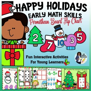 Happy Holidays Beginning Math Skills Promethean Flipchart