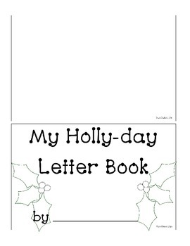Happy Holly-Day Letter Writing Book