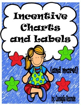 Happy Kids Incentive Charts and Labels to Support Classroo