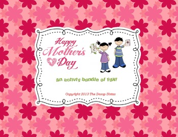 Happy Mother's Day! An activity bundle of FUN