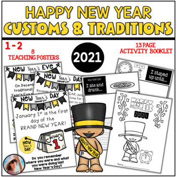 New Year 2017 Mini Book and Teaching Posters