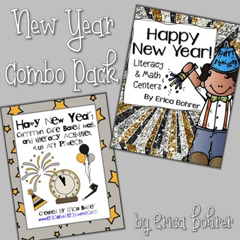 The New Year!  Common Core Combo Packet