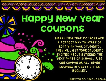 Happy New Year Coupons