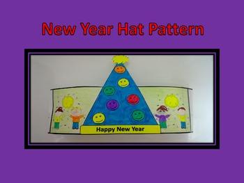 Happy New Year Hat Pattern