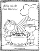 Happy Saint Patrick's Day! FREE Coloring Pages