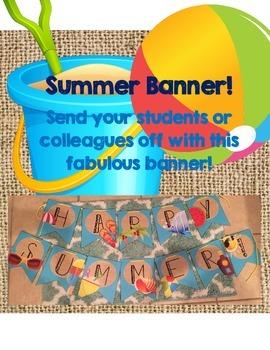 Happy Summer! Banner
