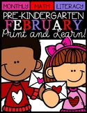 Happy Valentine's Day {Math and Literacy}