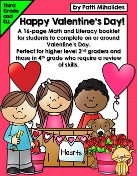 Happy Valentine's Day Activity Booklet/Worksheets: Perfect
