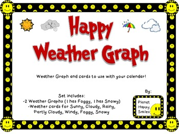 Smiley Face, Happy Weather Graph