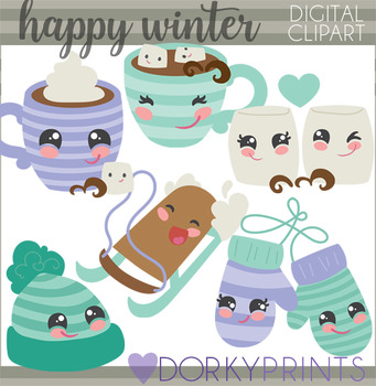 Happy Winter Clipart