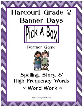 Harcourt Banner Days Second Grade Spelling, Story, HF Word