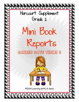 Harcourt SECOND GRADE Banner Days Supplement ~ Mini Book R