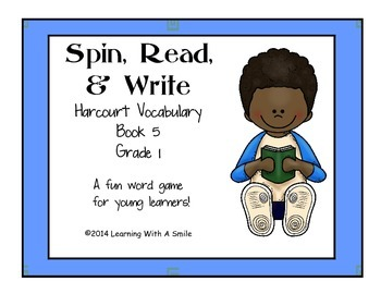 Harcourt Trophies First Grade Vocabulary Game (Book 5) Spi