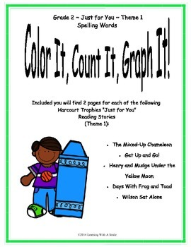 Harcourt Reading SECOND GRADE Just for You- Theme 1: Color