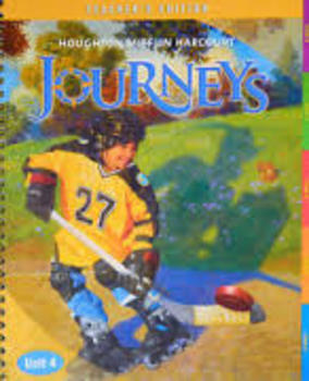 Harcourt Journey's Grade 5 Unit 1-4  Vocabulary/Spelling Lists