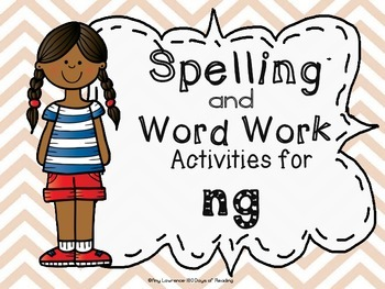 NG Spelling Center Activities