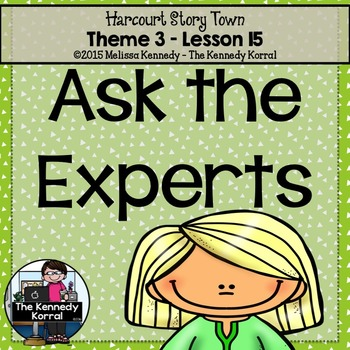 StoryTown Lesson 15 {Ask the Experts - 3rd Grade}