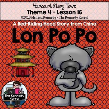 StoryTown Lesson 16 {Lon Po Po - 3rd Grade}