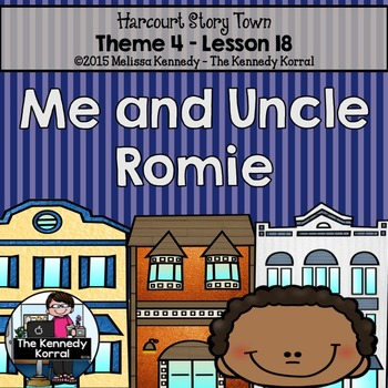 StoryTown Lesson 18 {Me and Uncle Romie - 3rd Grade}