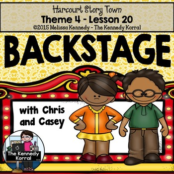 StoryTown Lesson 20 {Backstage with Chris and Casey - 3rd Grade}