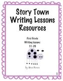 Harcourt StoryTown Lessons 11-20 First Grade Writing