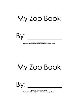 Harcourt Storytown K, lesson 24, My Zoo Book, hfw I, see,