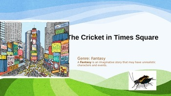 Harcourt The Cricket in Times Square Vocabulary & Focus Sk
