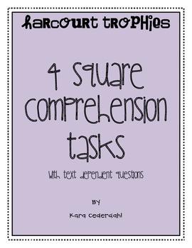 Harcourt Trophies 4 Square Comprehension Tasks
