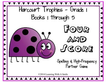 Harcourt Trophies FIRST GRADE Spelling & High Frequency Ga